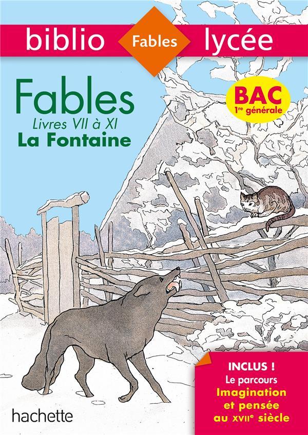 Fables de La Fontaine, livres VII à XI