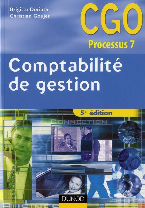 Comptabilite De Gestion ; Manuel (5e Edition)