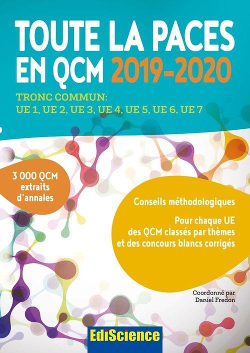 Toute la PACES en QCM 2019-2020 - Toute la PACES en QCM 2017-2018