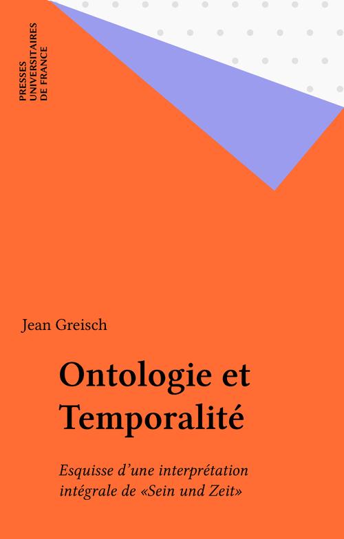 Ontologie et Temporalité