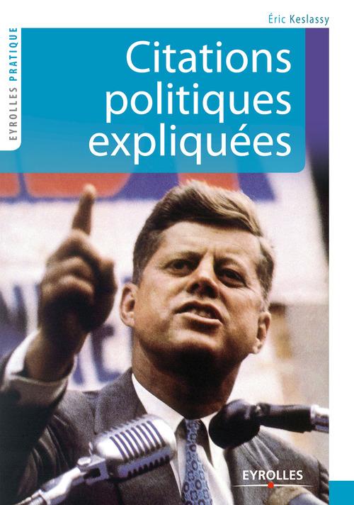 Citations politiques éxpliquées