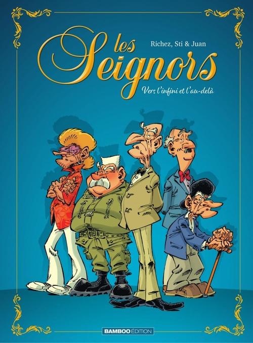 Les seignors - Tome 1  - Hervé Richez  - Sti  - Juan