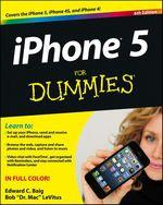 Vente Livre Numérique : IPhone 5 For Dummies  - Edward C. BAIG - Bob LEVITUS