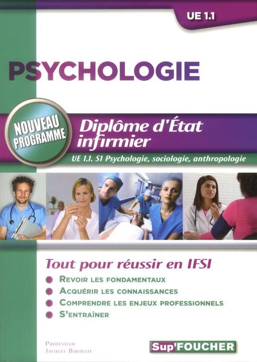 Psychologie ; Ifsi ; Ue 1.1