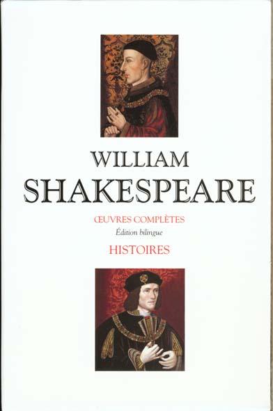 Shakespeare - Histoire - Coffret 2 Vol. - Edition Bilingue Francais/Anglais