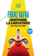 Vente Livre Numérique : Joséphine, la cantatrice  - Franz Kafka