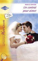 Vente Livre Numérique : Un contrat pour aimer (Harlequin Horizon)  - Rebecca Winters