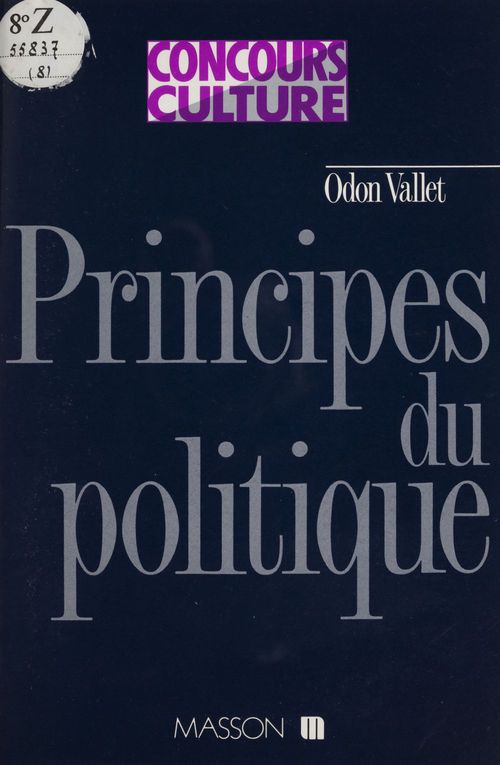 principes du politique