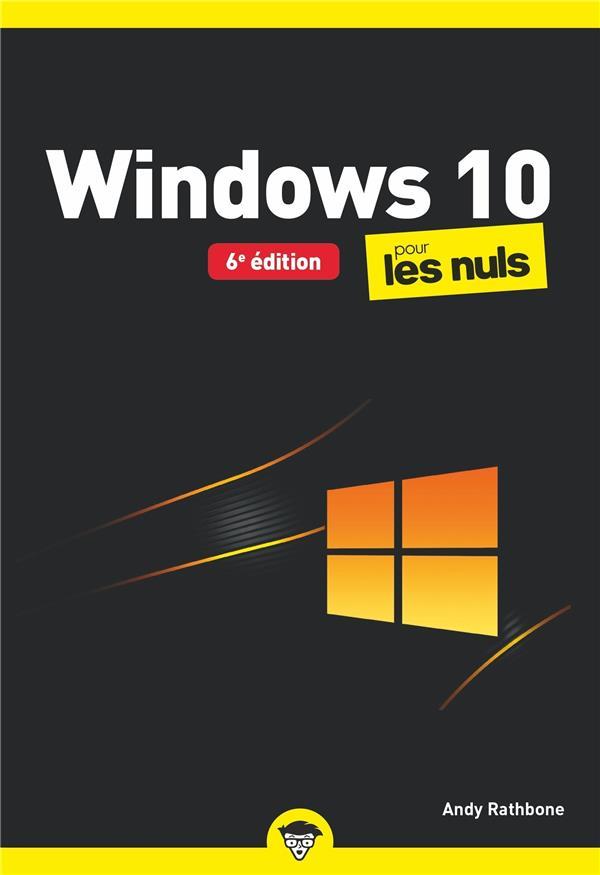Windows 10 poche pour les nuls (6e édition)