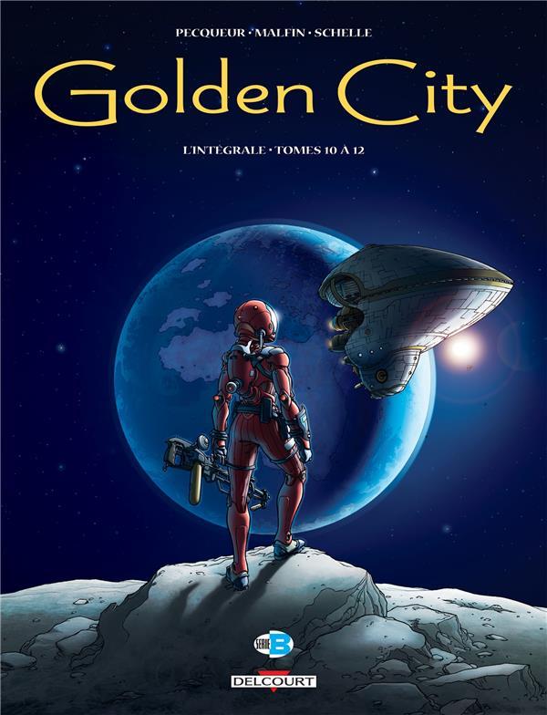 Golden City ; INTEGRALE VOL.4 ; T.10 A T.12