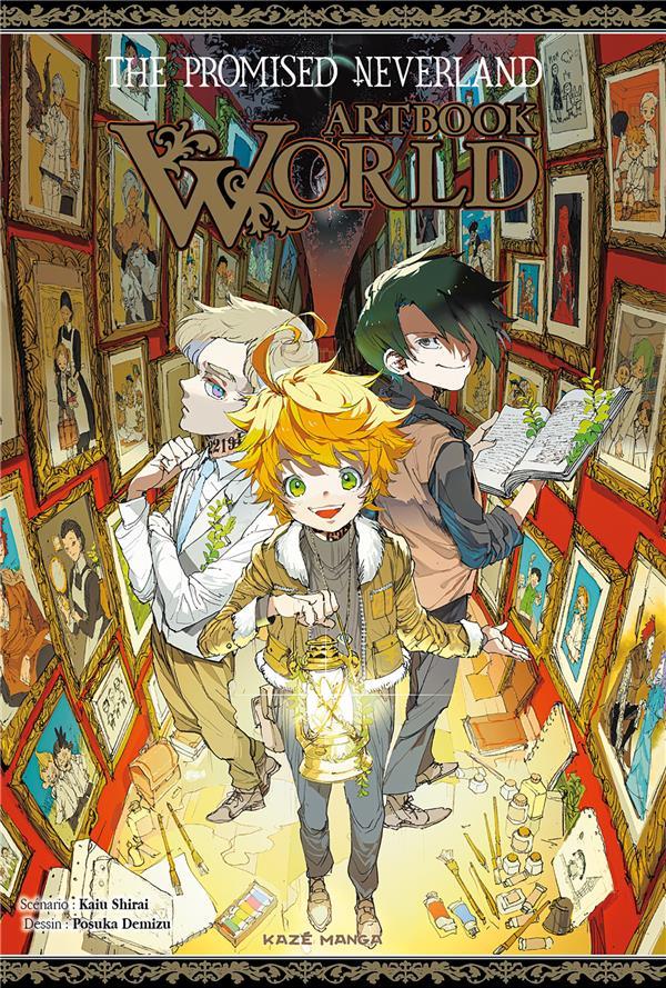 The promised Neverland ; artbook