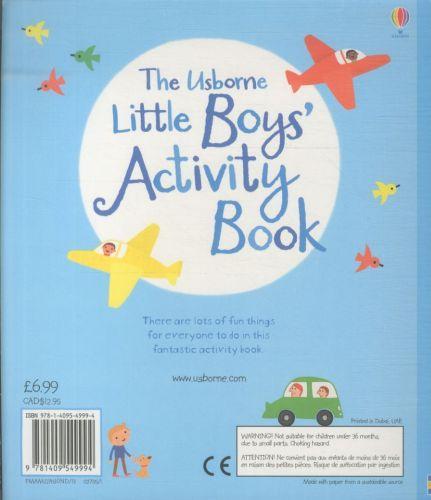LITTLE BOYS' ACTIVITY BOOK