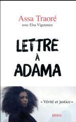 Couverture de Lettre à Adama
