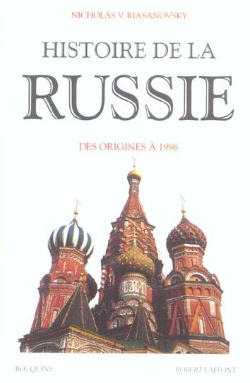 Histoire De La Russie Des Origines A 1996