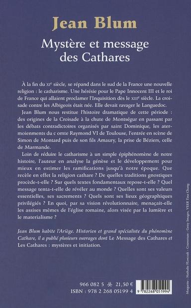 Mystère et message des Cathares