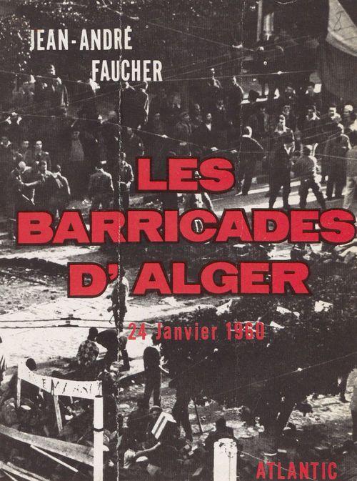 Les barricades d'Alger