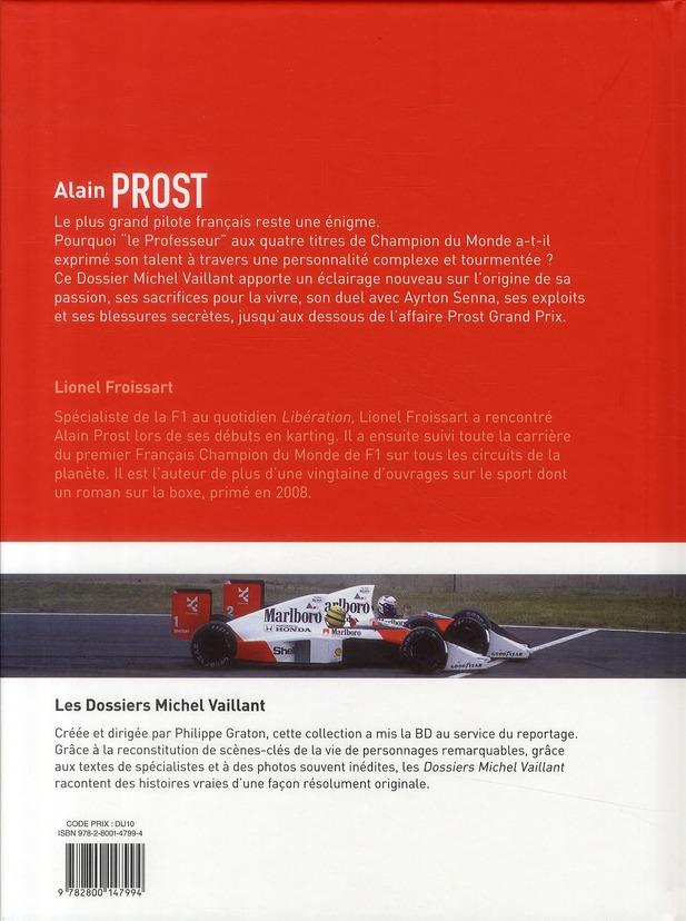dossiers Michel Vaillant t.12 ; Alain Prost