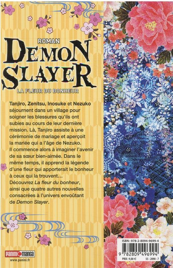 demon slayer t.1 ; la fleur du bonheur