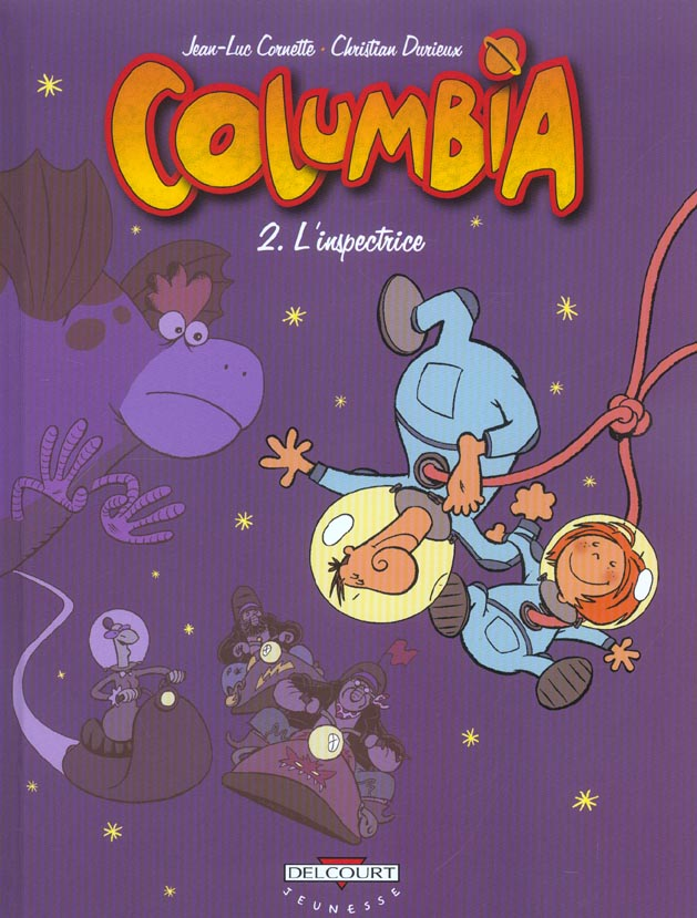 Columbia t.2 ; l'inspectrice