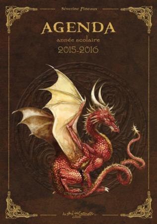 Les dragons ; agenda scolaire 2015-2016
