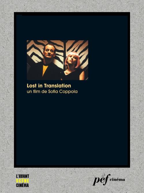 Lost in translation - Scénario du film