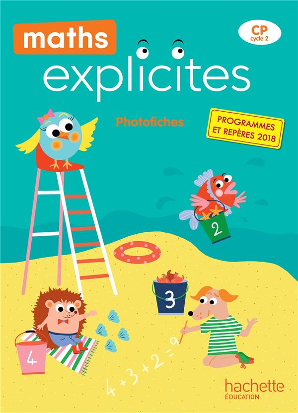 Maths explicites cp - photofiches - edition 2019
