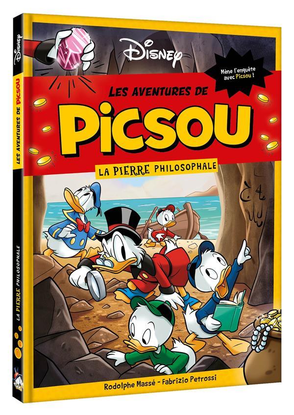 les aventures de Picsou ; la pierre philosophale