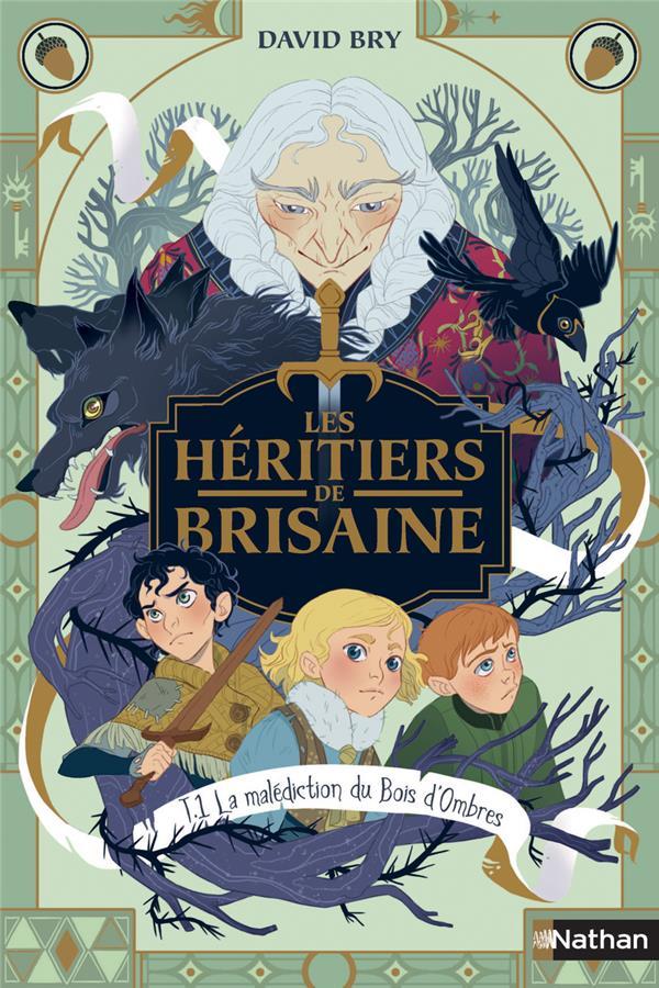 Les héritiers de Brisaine T.1 ; la malédiction du bois d'ombres