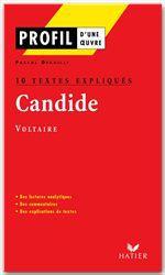 Candide de Voltaire ; 10 textes expliqués