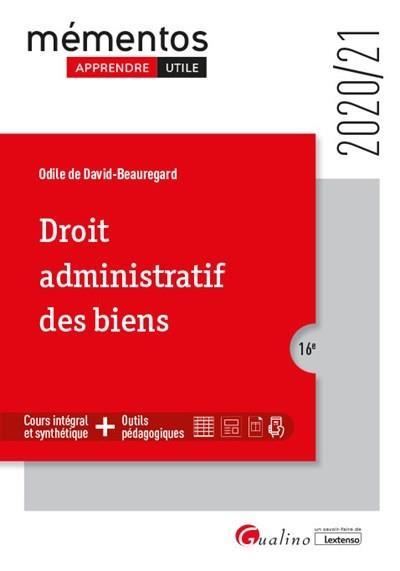 droit administratif des biens (édition 2020/2021)