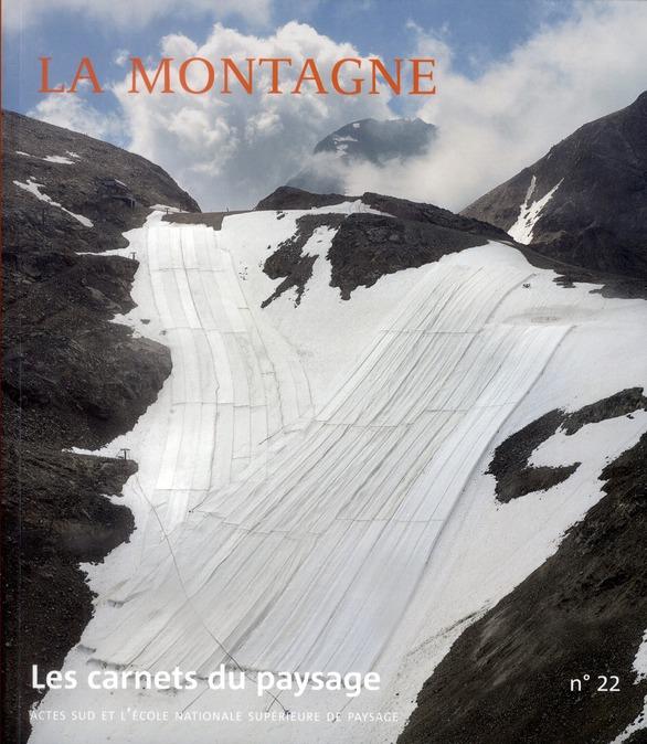 LES CARNETS DU PAYSAGE t.22 ; la montagne