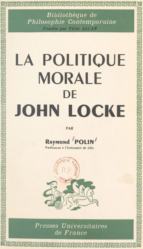 La politique morale de John Locke