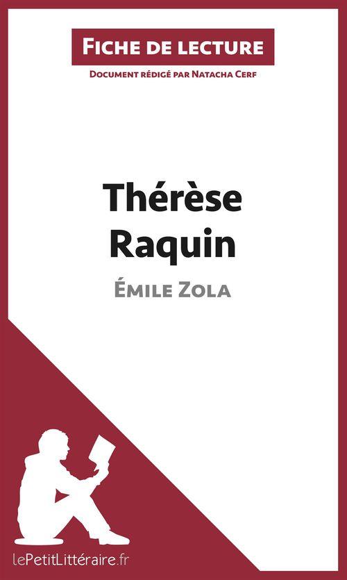 Thérèse Raquin de Émile Zola