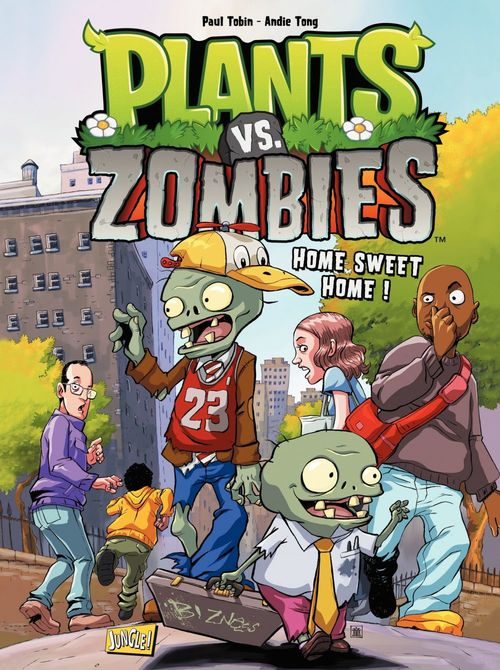 Plants vs zombies T.4 ; home sweet home