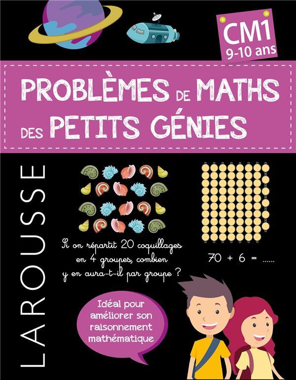 PROBLEMES DE MATHS DES PETITS GENIES  -  CM1