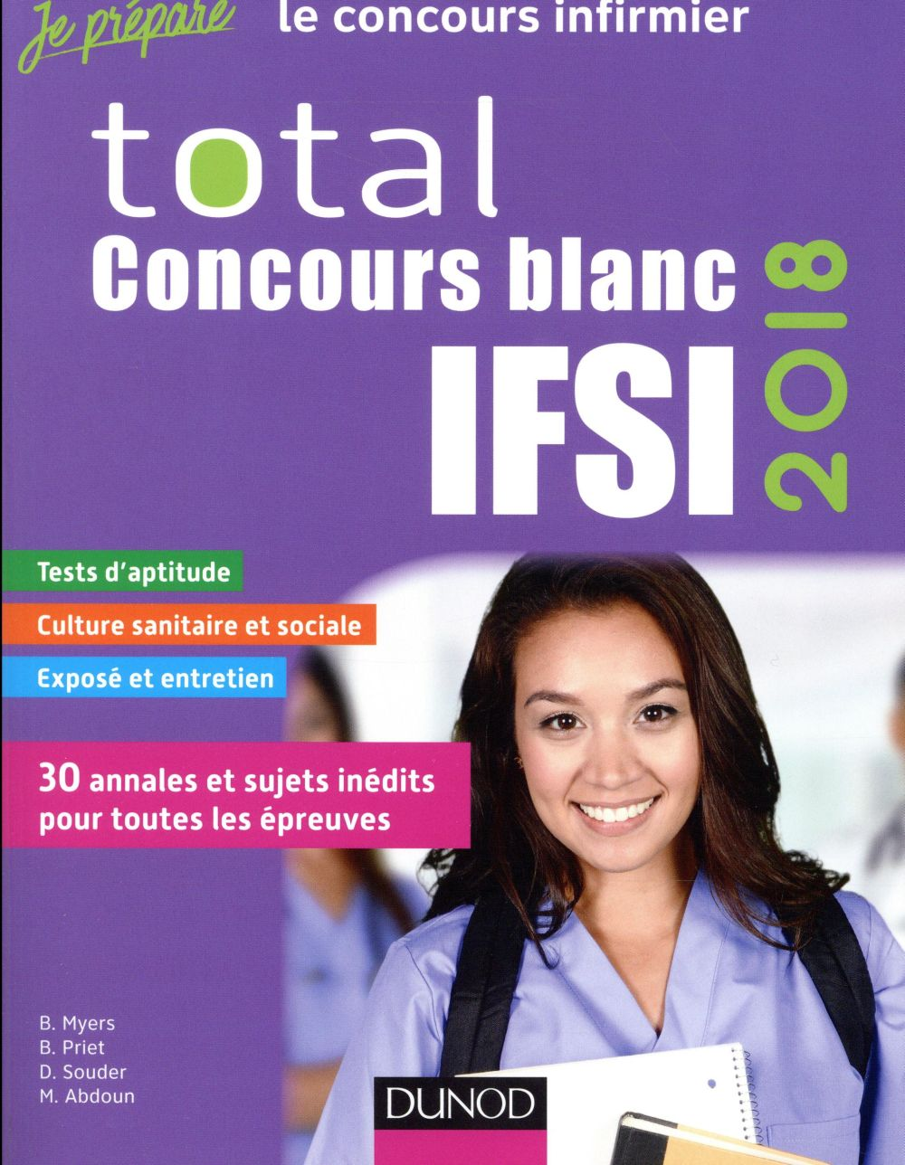 Total concours blancs IFSI (édition 2018)