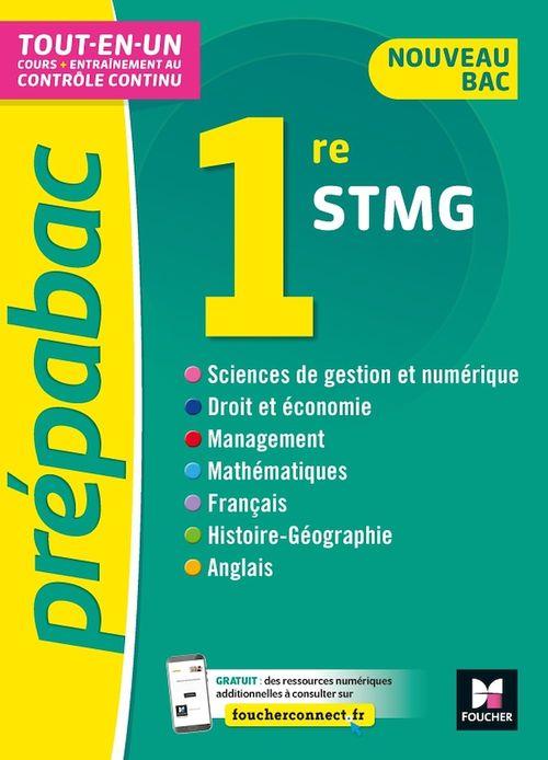 Prépabac 1re STMG - Toutes les matières - Cours et contrôle continu