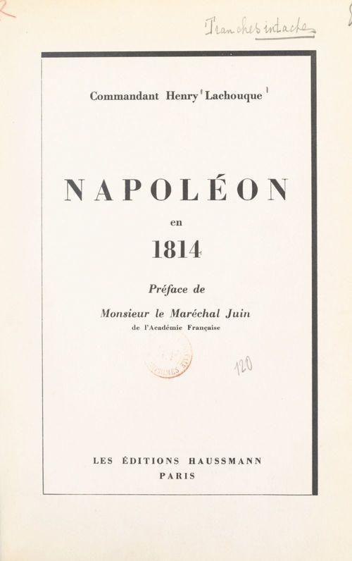 Napoléon en 1814