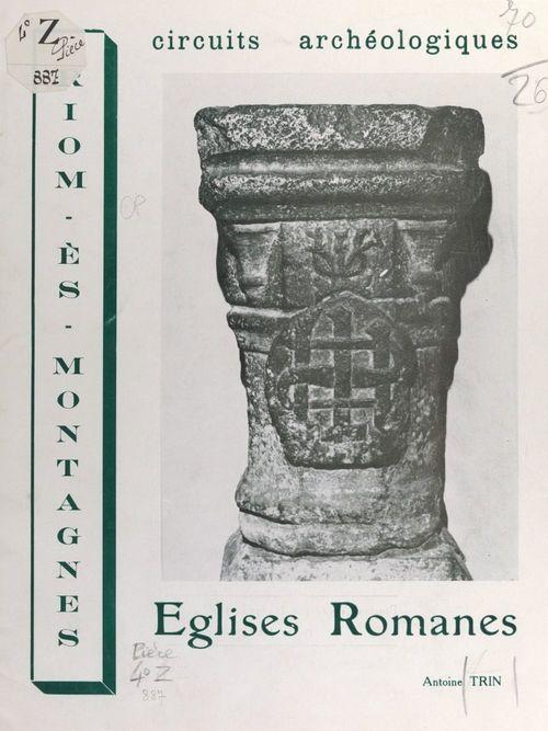 Riom-ès-Montagnes : circuits archéologiques, églises romanes  - Antoine Trin