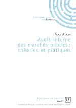 Audit interne des marchés publics ; théories et pratiques