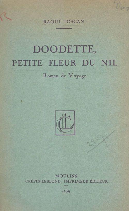 Doodette, petite fleur du Nil