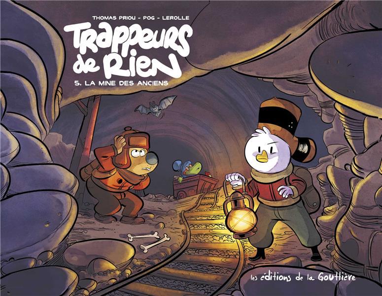 TRAPPEURS DE RIEN T.05