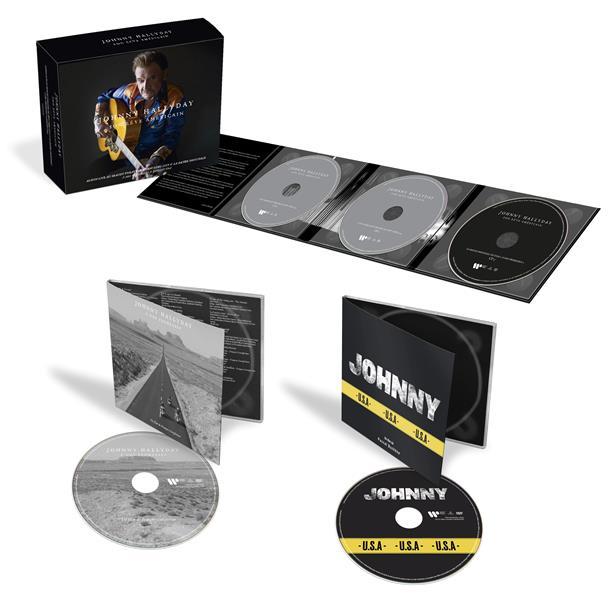 Son rêve américain : édition limitée - coffret 3CD+2DVD