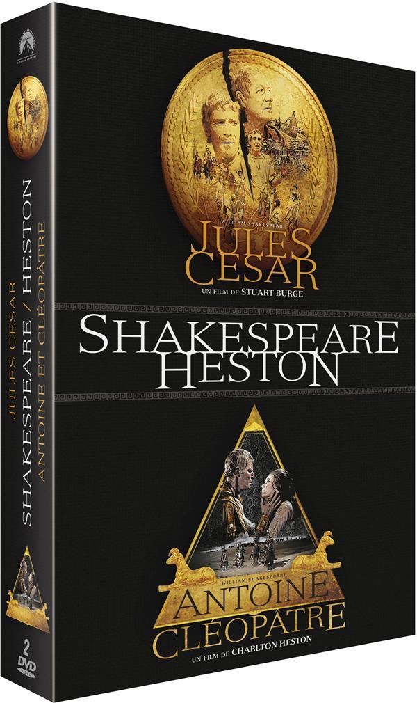 Jules César + Antoine et Cléopâtre