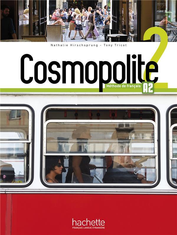 Cosmopolite 2 : Livre De L'Eleve + Dvd Rom + Parcours Digital