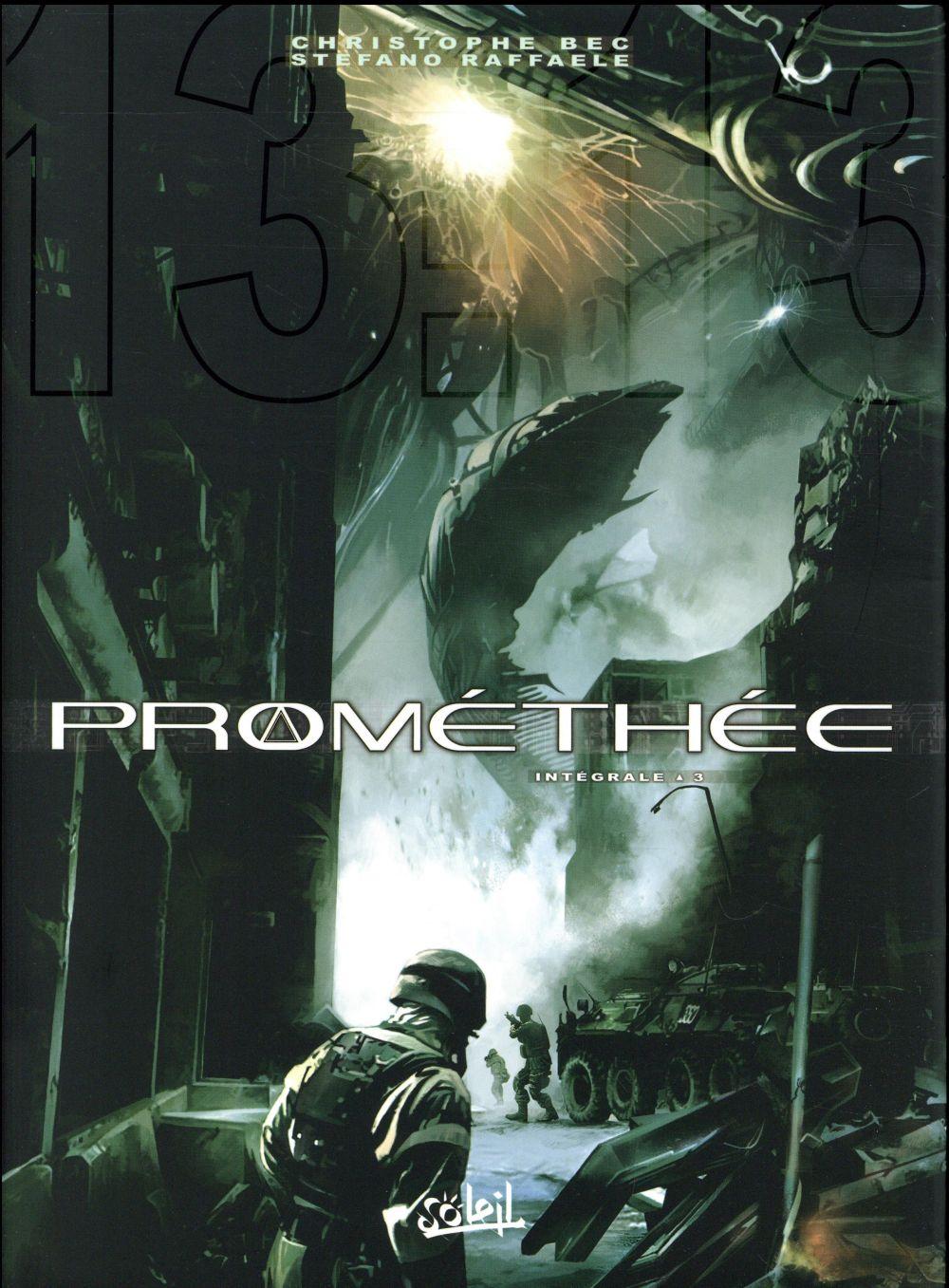 Promethee ; Integrale Vol.3 ; T.10 A T.12