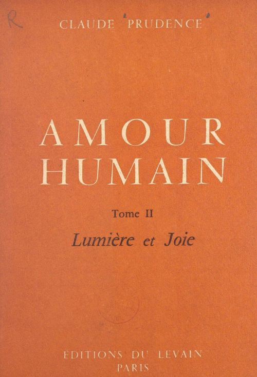 Amour humain (2)