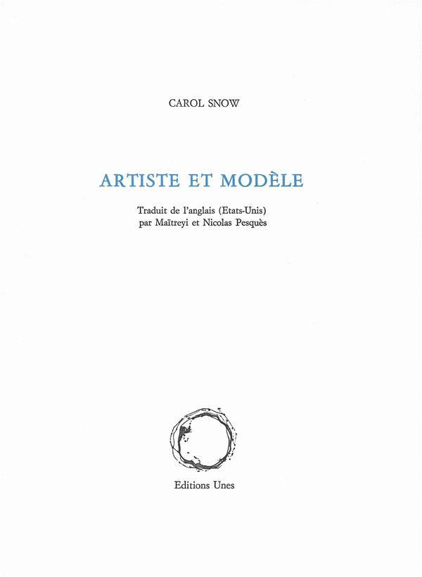 Artiste et modèle