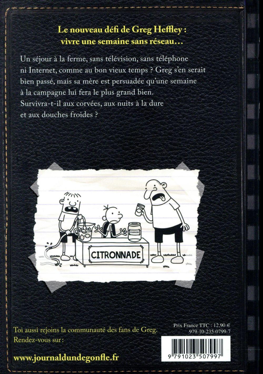 Journal d'un dégonflé T.10 ; zéro réseau