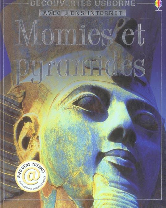 Momies et pyramides ; avec liens internet